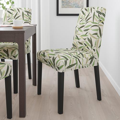 BERGMUND - 椅子, 黑色/Fågelfors 彩色 | IKEA 香港及澳門 - PE789347_S4