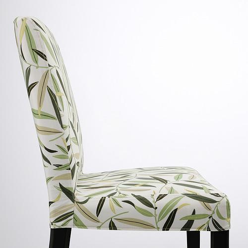 BERGMUND - 椅子, 黑色/Fågelfors 彩色 | IKEA 香港及澳門 - PE789346_S4