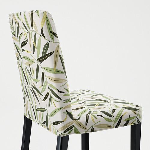 BERGMUND - 椅子, 黑色/Fågelfors 彩色 | IKEA 香港及澳門 - PE789345_S4