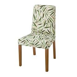 BERGMUND - chair, oak/Fågelfors multicolour   IKEA Hong Kong and Macau - PE789369_S3