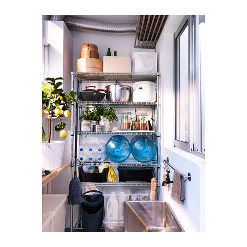 OMAR - 1 shelf section, 92x36x181 cm | IKEA Hong Kong and Macau - PE316185_S4