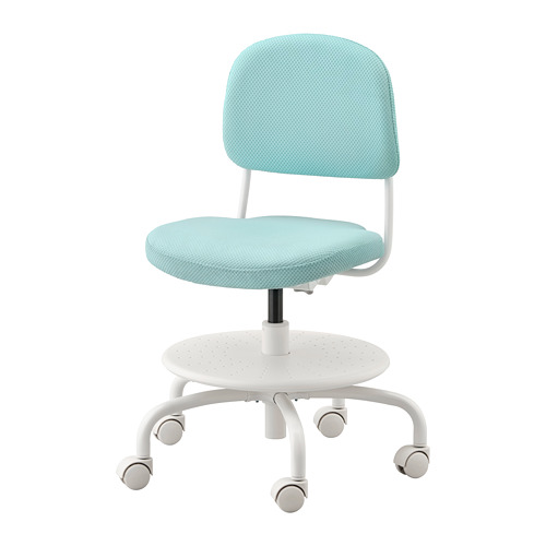 VIMUND - children's desk chair, light turquoise | IKEA Hong Kong and Macau - PE735387_S4