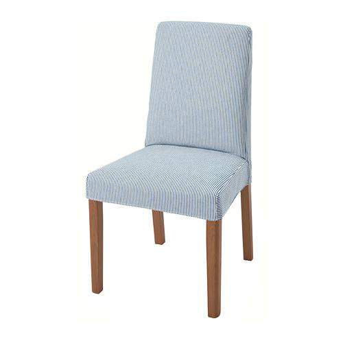 BERGMUND - 椅子, 橡木/Rommele 深藍色/白色 | IKEA 香港及澳門 - PE789393_S4
