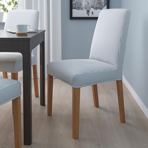 BERGMUND - 椅子, 橡木/Rommele 深藍色/白色 | IKEA 香港及澳門 - PE789396_S4