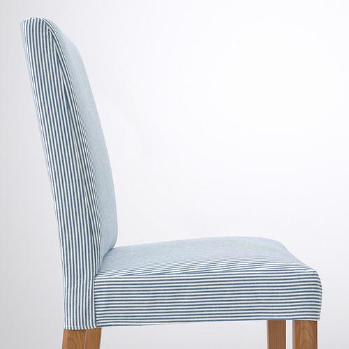 BERGMUND - 椅子, 橡木/Rommele 深藍色/白色 | IKEA 香港及澳門 - PE789395_S4