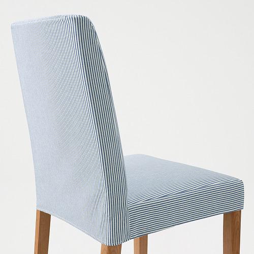 BERGMUND - 椅子, 橡木/Rommele 深藍色/白色 | IKEA 香港及澳門 - PE789394_S4