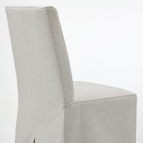 BERGMUND chair with long cover