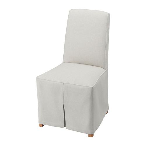 BERGMUND - 餐椅連長椅套, 橡木/Kolboda 米色/深灰色 | IKEA 香港及澳門 - PE789403_S4