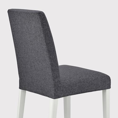 BERGMUND - 椅子, 白色/Gunnared 暗灰色 | IKEA 香港及澳門 - PE789416_S4
