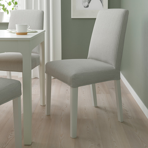 BERGMUND - 椅子, 白色/Orrsta 淺灰色   IKEA 香港及澳門 - PE789434_S4