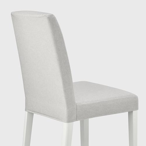 BERGMUND - 椅子, 白色/Orrsta 淺灰色   IKEA 香港及澳門 - PE789432_S4