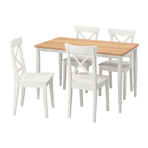 DANDERYD/INGOLF - 一檯四椅, 白色/白色   IKEA 香港及澳門 - PE789463_S4
