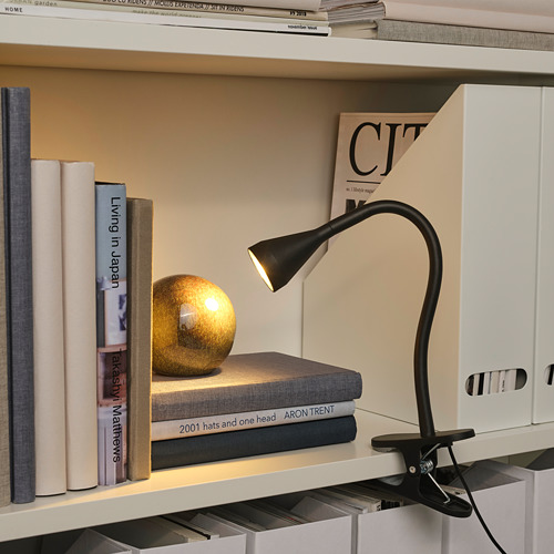 NÄVLINGE - LED夾式射燈, 黑色 | IKEA 香港及澳門 - PE735392_S4