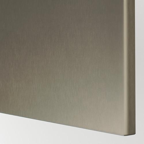 BESTÅ - 電視几連抽屜/門, white/Riksviken/Stubbarp light bronze effect | IKEA 香港及澳門 - PE735415_S4