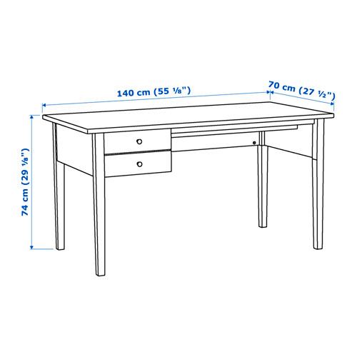 ARKELSTORP - desk, 140x70cm, black | IKEA Hong Kong and Macau - PE645209_S4