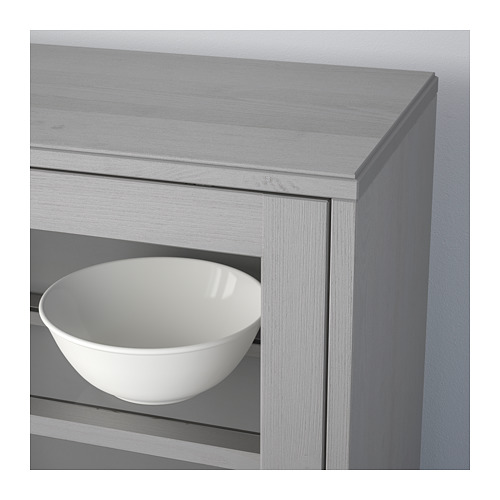HAVSTA - storage combination w glass doors, grey | IKEA Hong Kong and Macau - PE693028_S4