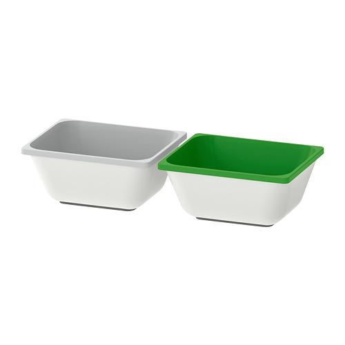 VARIERA - 貯物箱, 綠色/灰色 | IKEA 香港及澳門 - PE693066_S4