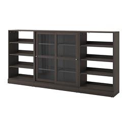 HAVSTA - 玻璃門貯物組合, 深褐色 | IKEA 香港及澳門 - PE693071_S3