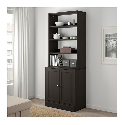 HAVSTA - storage combination, dark brown | IKEA Hong Kong and Macau - PE693089_S4