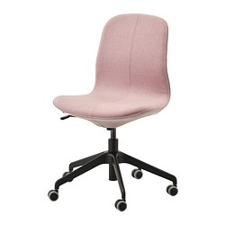 LÅNGFJÄLL - office chair, Gunnared light brown-pink/black | IKEA Hong Kong and Macau - PE735459_S3