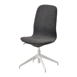 LÅNGFJÄLL - conference chair, Gunnared dark grey/white | IKEA Hong Kong and Macau - PE735471_S3