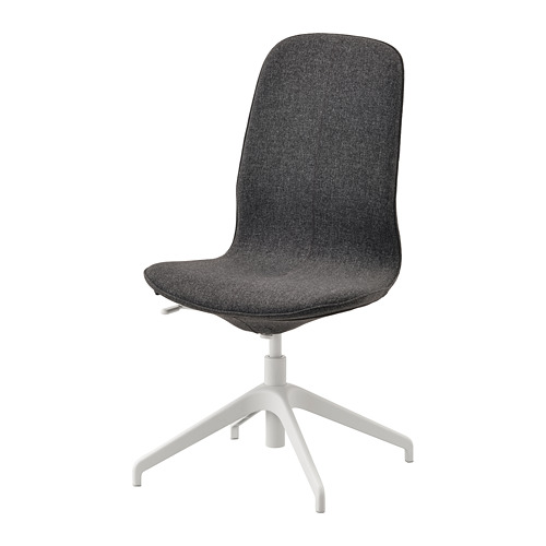 LÅNGFJÄLL - conference chair, Gunnared dark grey/white | IKEA Hong Kong and Macau - PE735471_S4