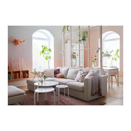 VIMLE - 3-seat sofa-bed with chaise longue, Gunnared beige | IKEA Hong Kong and Macau - PH145983_S4