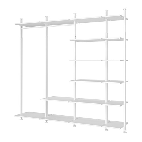 ELVARLI - 4 sections/shelves, white | IKEA Hong Kong and Macau - PE789592_S4