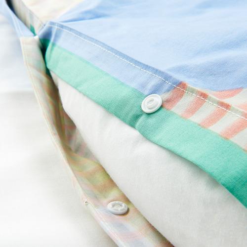 PIMPERNÖT - 被套枕袋套裝, 彩色, 150x200/50x80 cm | IKEA 香港及澳門 - PE790014_S4