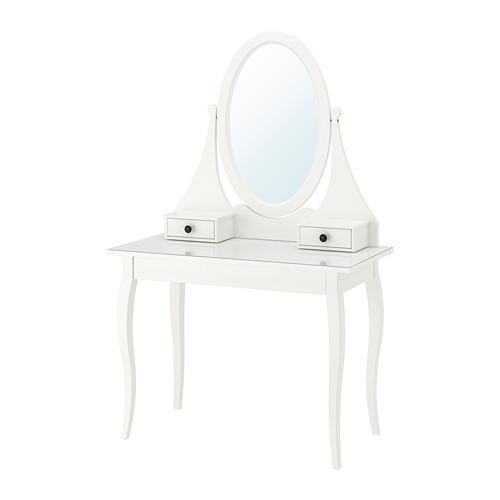 HEMNES - dressing table with mirror, white | IKEA Hong Kong and Macau - PE693165_S4
