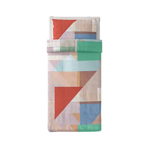 PIMPERNÖT - 被套枕袋套裝, 彩色, 150x200/50x80 cm | IKEA 香港及澳門 - PE790012_S4