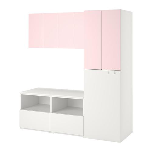 SMÅSTAD/PLATSA storage combination