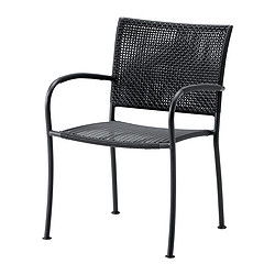LÄCKÖ - chair with armrests, outdoor, grey | IKEA Hong Kong and Macau - PE246099_S3