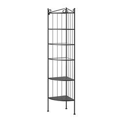 RÖNNSKÄR - 角位層架組合, 黑色 | IKEA 香港及澳門 - PE693194_S3