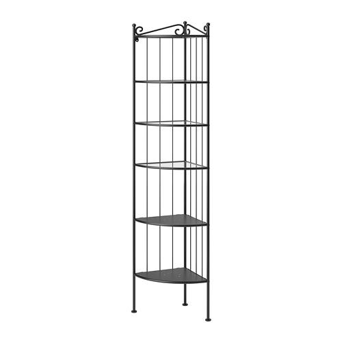 RÖNNSKÄR - 角位層架組合, 黑色 | IKEA 香港及澳門 - PE693194_S4