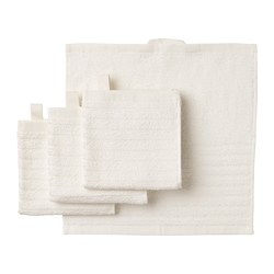 VÅGSJÖN - washcloth, white | IKEA Hong Kong and Macau - PE693200_S3