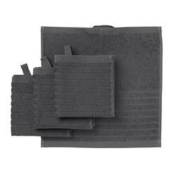 VÅGSJÖN - 面巾, 深灰色 | IKEA 香港及澳門 - PE693202_S3