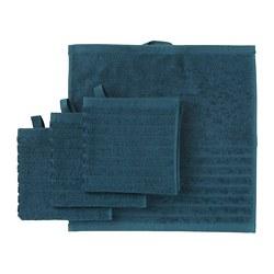 VÅGSJÖN - 面巾, 深藍色 | IKEA 香港及澳門 - PE693207_S3