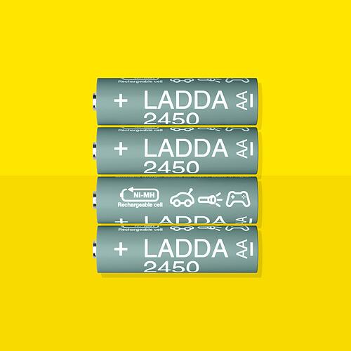LADDA - 充電池 | IKEA 香港及澳門 - PE834766_S4