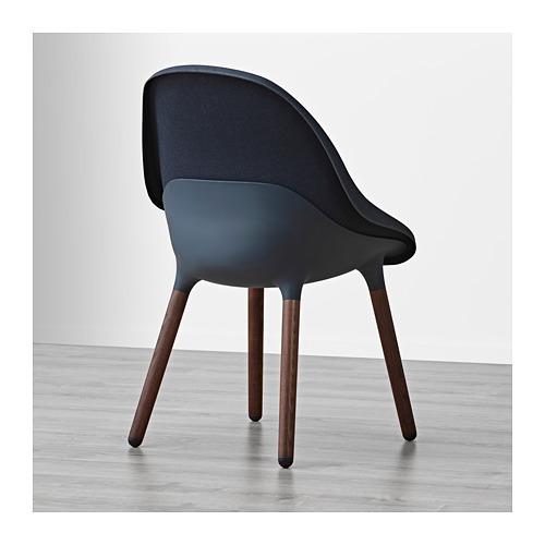 BALTSAR - 椅子, 藍黑色/褐色   IKEA 香港及澳門 - PE693319_S4