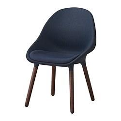 BALTSAR - 椅子, 藍黑色/褐色 | IKEA 香港及澳門 - PE693320_S3