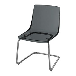 TOBIAS - chair, grey/chrome-plated | IKEA Hong Kong and Macau - PE735597_S3