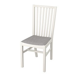 NORRNÄS - 椅子, 白色/Isunda 灰色 | IKEA 香港及澳門 - PE735600_S3