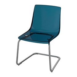 TOBIAS - chair, blue/chrome-plated | IKEA Hong Kong and Macau - PE735605_S3