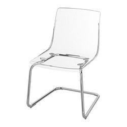 TOBIAS - chair, transparent/chrome-plated | IKEA Hong Kong and Macau - PE735614_S3