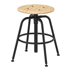 KULLABERG - stool, pine/black | IKEA Hong Kong and Macau - PE735640_S3
