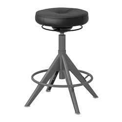 TROLLBERGET - active sit/stand support, Glose black | IKEA Hong Kong and Macau - PE735649_S3