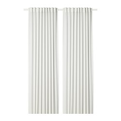 HILJA - curtains, 1 pair, white | IKEA Hong Kong and Macau - PE693352_S3