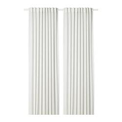 HILJA - 窗簾,一對, 白色 | IKEA 香港及澳門 - PE693352_S3