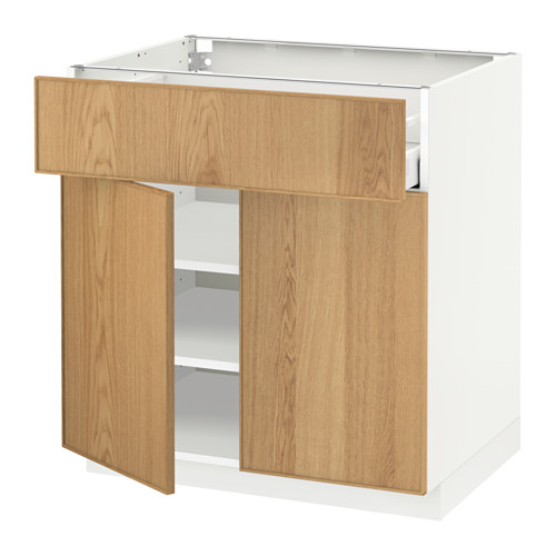 METOD/MAXIMERA base cabinet with drawer/2 doors